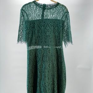 Brand new size 10 green summer dress